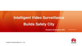 Intelligent Video  Surveillance Builds Safety City