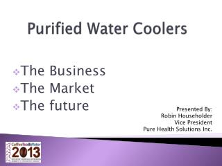 Purified Water Coolers