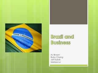 Brazil and Business