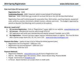 2014 Spring Registrationwww.dvlacrosse.com