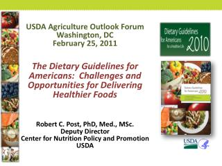USDA Agriculture Outlook Forum Washington, DC February 25, 2011
