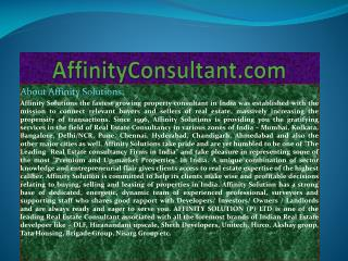 "dlf maiden heights |""affinityconsultant.com""