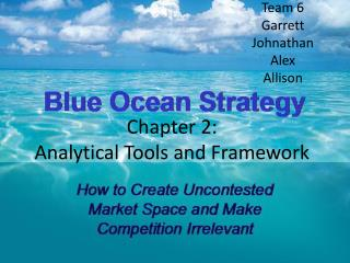 Chapter 2: Analytical Tools and Framework