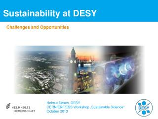 Sustainability at  DESY