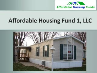 Affordable Housing Fund 1, LLC
