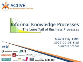Informal Knowledge Processes The Long Tail of Business Processes