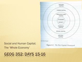 GEOG 352: Days 15-16