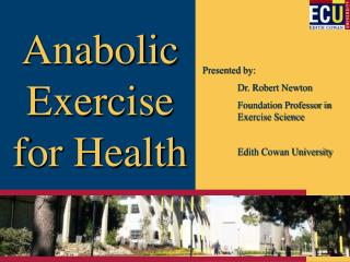 Anabolic Exercise for Health