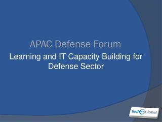 APAC  Defense  Forum