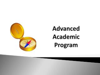 Advanced Academic  Program