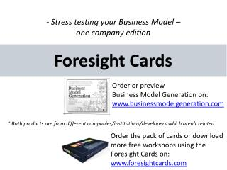 Foresight  Cards
