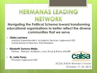 Navigating the Political Schema toward transforming educational organizations to better reflect the diverse communities