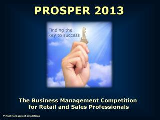 The  Business  Management Competition  for  Retail and Sales Professionals