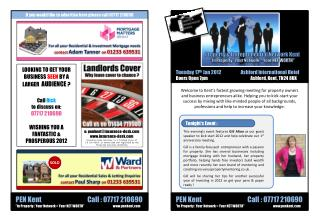 If you would like to advertise here please call 07717 210690