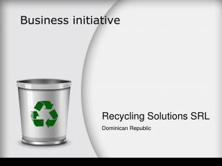 Recycling Solutions SRL