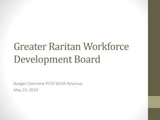 Greater Raritan Workforce Development Board