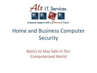 Home and Business Computer Security