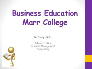 Business Education Marr College