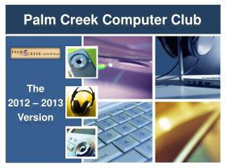Palm Creek Computer Club