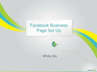 Facebook Business  Page Set Up