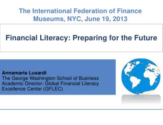 Financial Literacy: Preparing for the Future