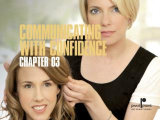 Chapter 3  communicating with confidence
