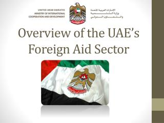 Overview of the UAE's Foreign Aid Sector