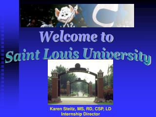 Welcome to  Saint Louis University