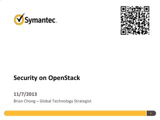 Security on OpenStack