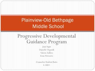Plainview-Old Bethpage  Middle School