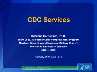 National Center for Environmental Health