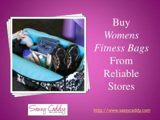 Buy womens fitness bags from reliable stores: