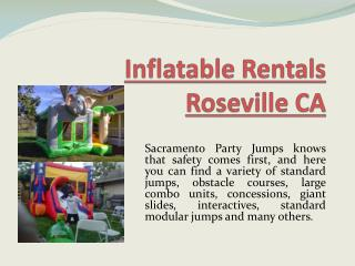 Bounce Houses Rancho Cordova CA