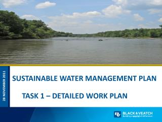 SUSTAINABLE WATER MANAGEMENT PLAN