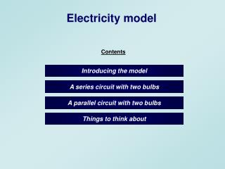 a parallel circuit with two bulbs