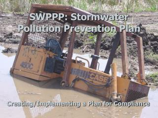 SWPPP: Stormwater Pollution Prevention Plan