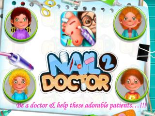Free Android Kids Game - Nail Doctor 2