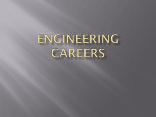 Engineering  Careers