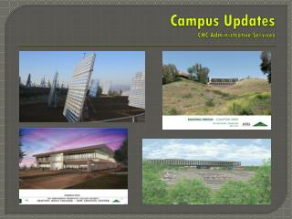 Campus Updates CHC Administrative Services