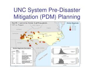 UNC System Pre-Disaster  Mitigation (PDM) Planning