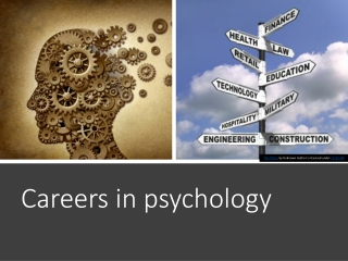 career focus: forensic psychology