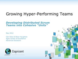 Growing Hyper-Performing Teams