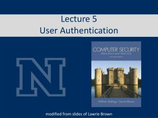 Lecture 5 User Authentication
