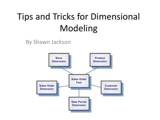 Tips and Tricks for Dimensional Modeling