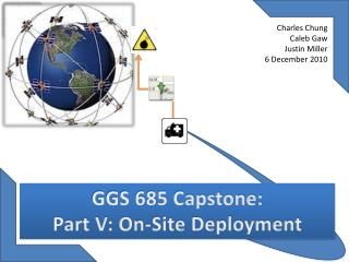 GGS 685 Capstone: Part V: On-Site Deployment