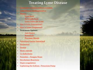 Symptoms: common and less common Lyme Disease Misdiagnosed as Photos: Lyme Rash  Bartonella Rash  Lyme Under the Scope H