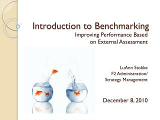 Introduction to Benchmarking