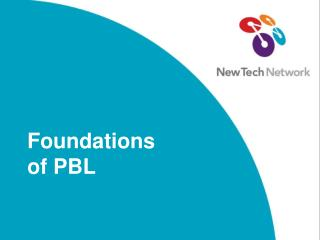 Foundations of PBL