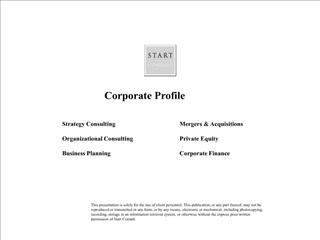 sc corporate profile - start consult