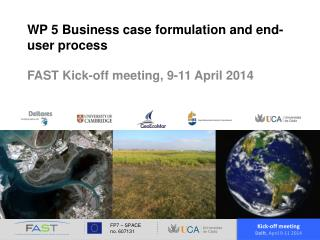 WP 5 Business case formulation and end-user process
